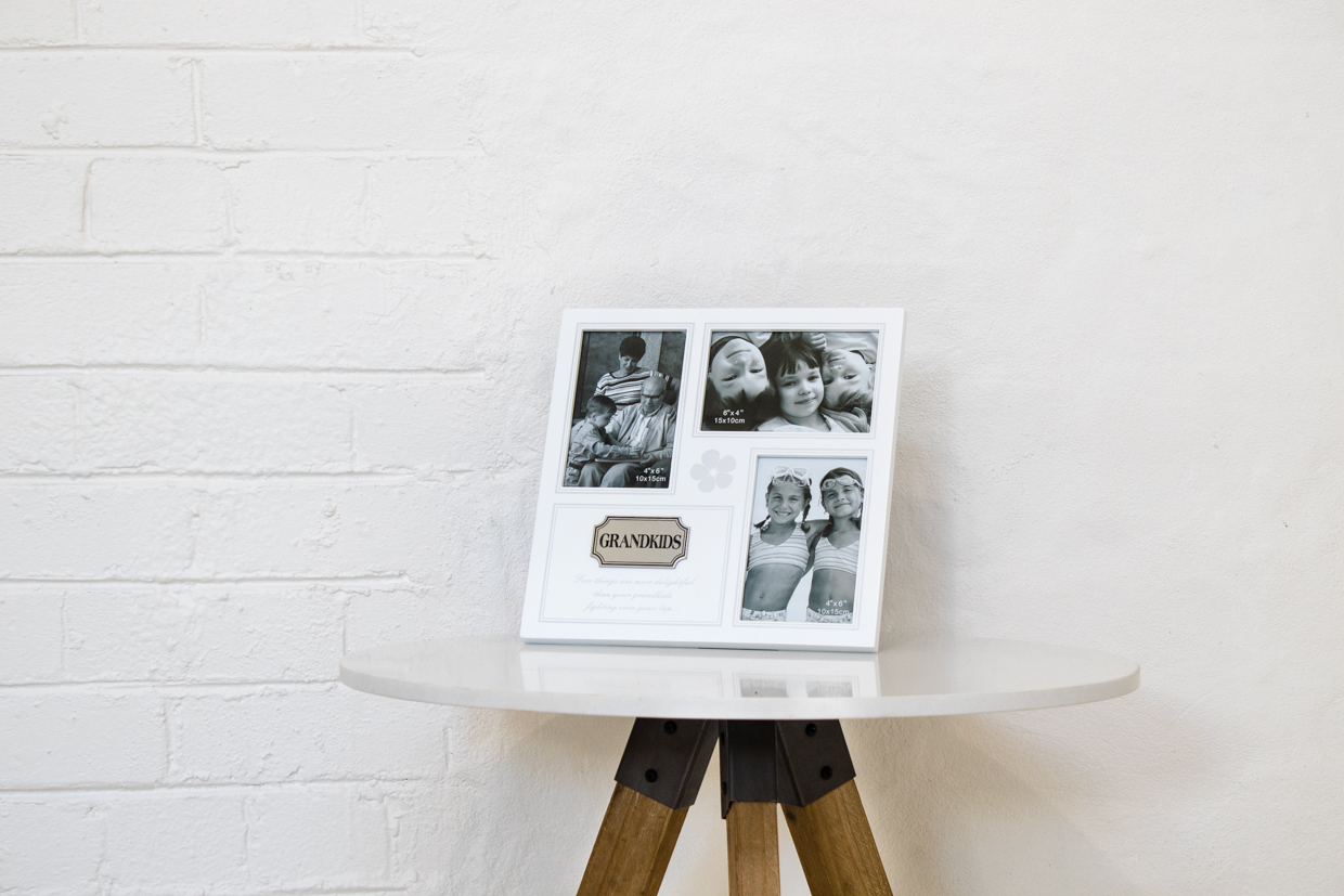 Grandkids Photo Frame (White) | Hearts Desire Homewares