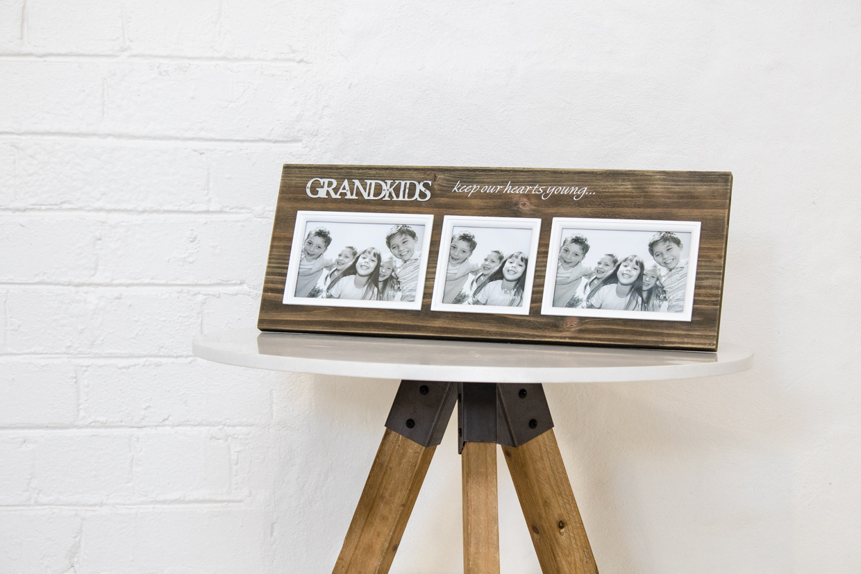 Grandkids Photo Frame (Brown) | Hearts Desire Homewares