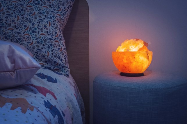 Do Salt Lamps Cause Fires : Fire Bowl Himalayan Salt Lamp Hearts Desire Homewares
