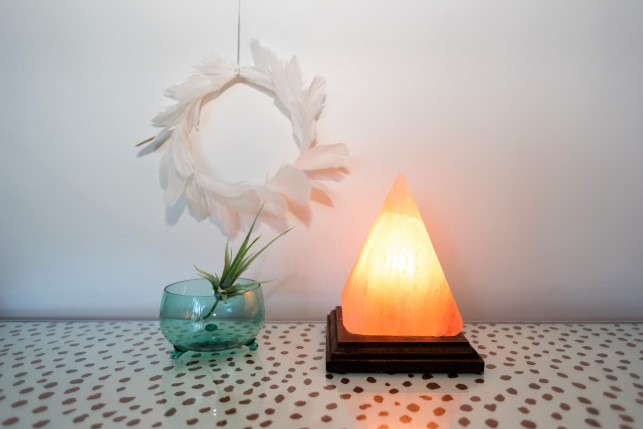 Salt Lamps Maitland Nsw : Himalayan Salt Lamp, Pyramid Hearts Desire Homewares